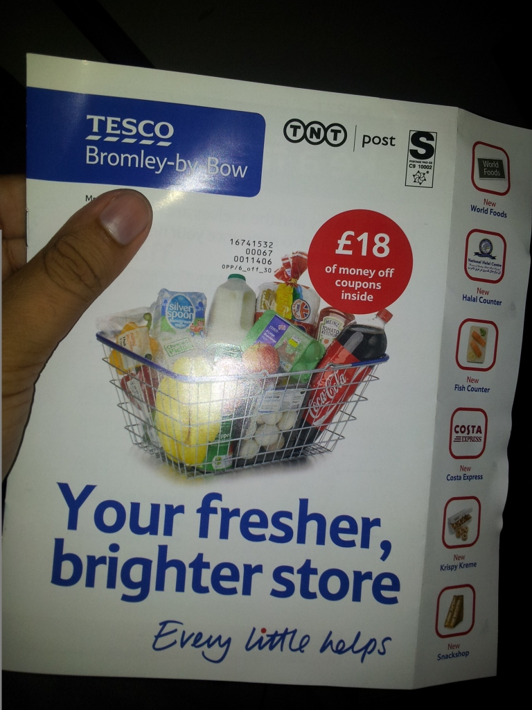 TESCO BROMLEY-BY-BOW: A fresher, brighter store
