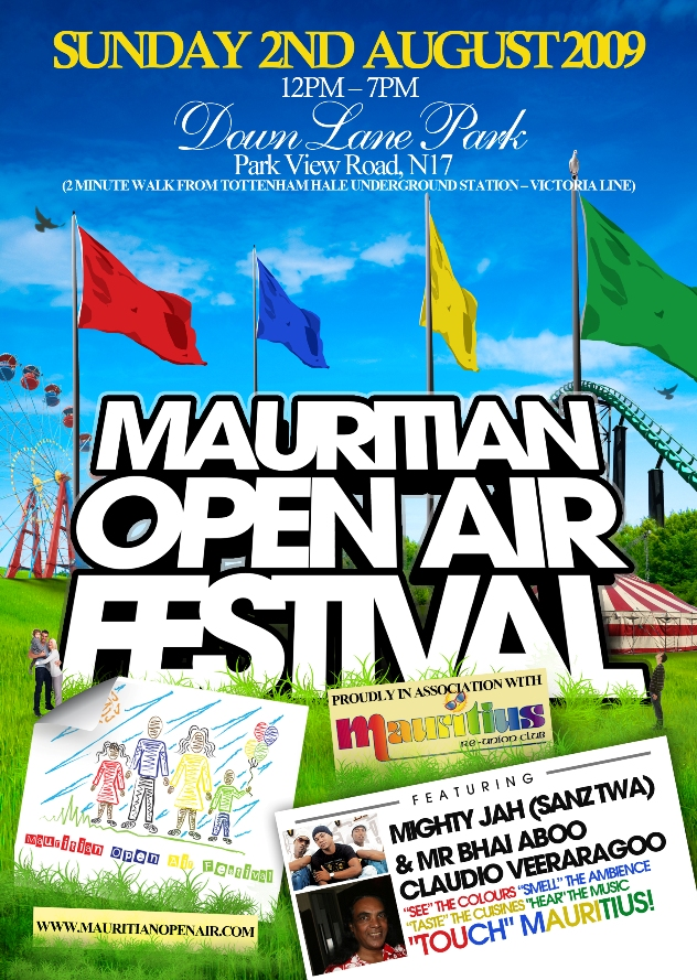 A MOAF flyer from three years back (c) Mauritian Ticketmaster