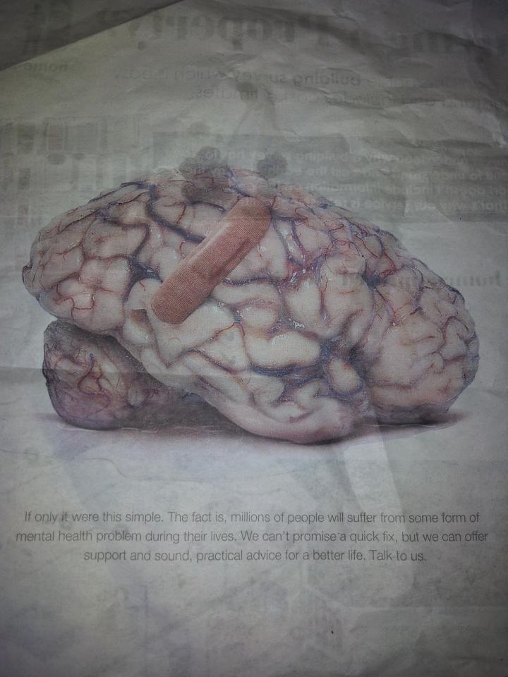 Metro paper ad Rethink