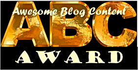 Awesome Blog Content Award - August 2013
