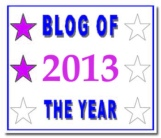 Blog of the Year 2013 - 2* - December 2013