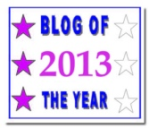 Blog of the Year 2013 - 3* - December 2013