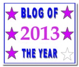 Blog of the Year 2013 - 5* - December 2013