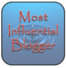 Most Influential Blogger - August 2013