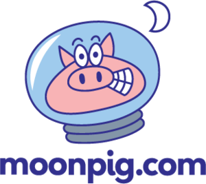 English: Moonpig.com company logo (Photo credit: Wikipedia)
