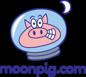English: Moonpig.com company logo (Photo credit: Wikipedia)