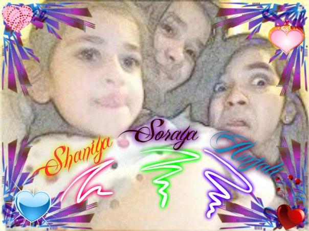 Shaniya,Soraya & Anjali