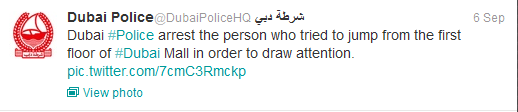 (c) Dubai Police/Twitter