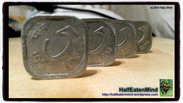 India 5 paise coins queue HEM pizap.com13785611992711