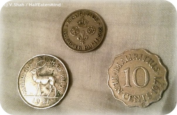PHOTO MOMENT: Old Mauritian coins
