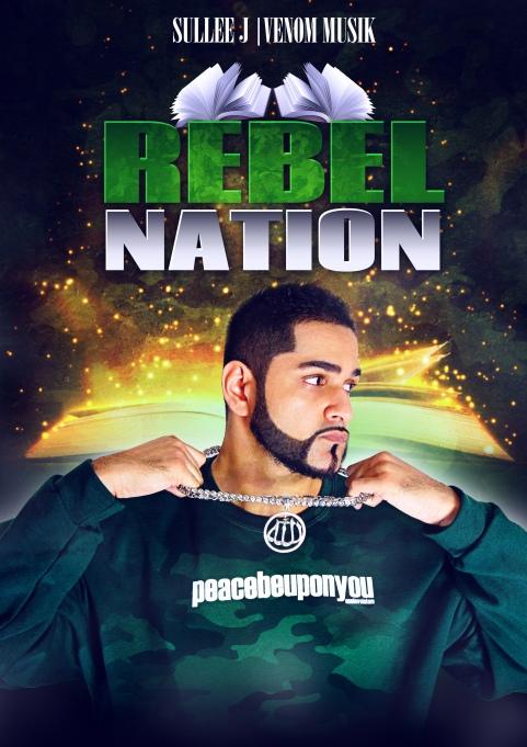 Rebel Nation Flyer - Sullee J