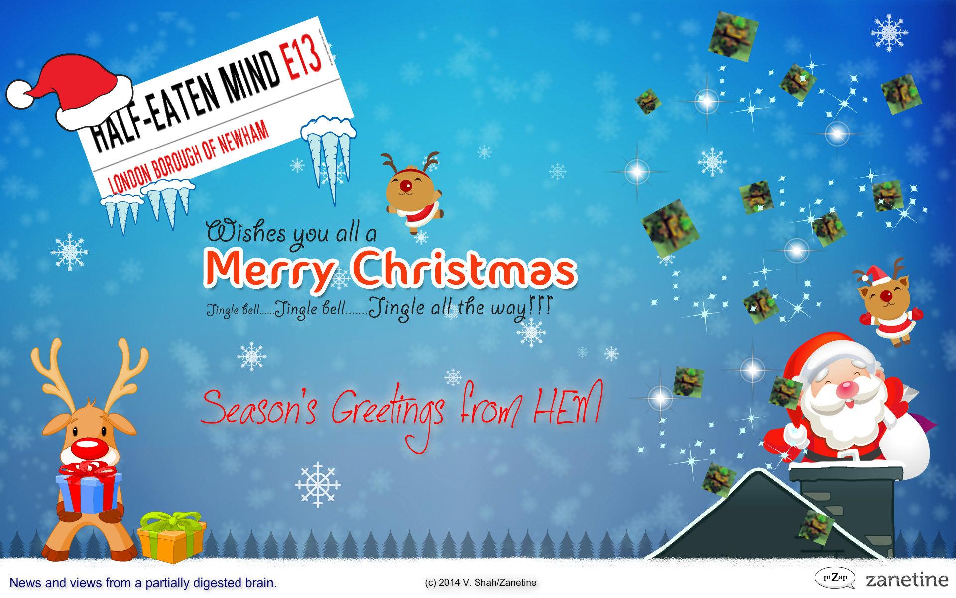 gif moment: christmas 2014 gifs + hem santa wallpaper – hem